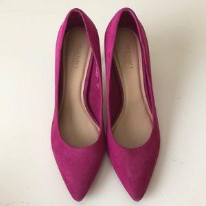 Pink Fuchsia heels size 8